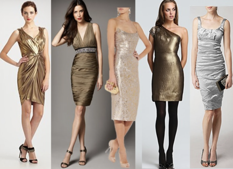 Metallic Magic: Holiday Cocktail Dresses 2016, Part 3 | Ask A Style ...